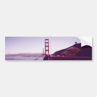 Puente Golden Gate Pegatina De Parachoque