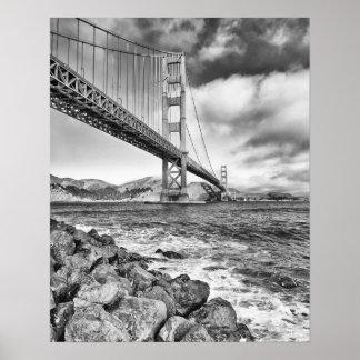 Puente Golden Gate, California Posters