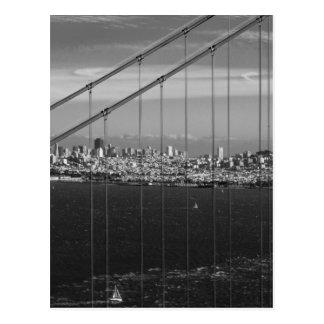 Puente Golden Gate de B&W Postales
