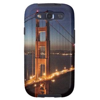 Puente Golden Gate de los promontorios de Marin Galaxy SIII Carcasas