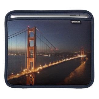 Puente Golden Gate de los promontorios de Marin Funda Para iPads