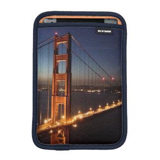 Puente Golden Gate de los promontorios de Marin Fundas iPad Mini