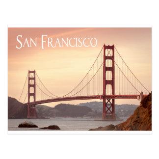 Puente Golden Gate de San Francisco California, Tarjetas Postales