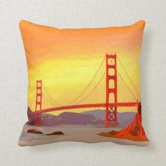 Puente Golden Gate de San Francisco Cojín