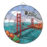 Puente Golden Gate de San Francisco Tablero De Dardos