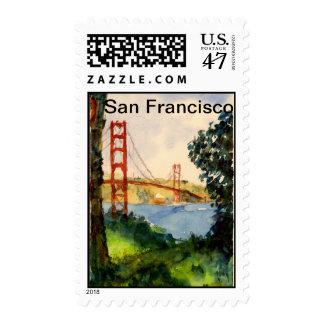 Puente Golden Gate de San Francisco Estampillas