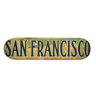 Puente Golden Gate de San Francisco Monopatín