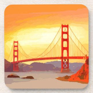 Puente Golden Gate de San Francisco Posavasos De Bebida