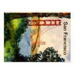 Puente Golden Gate de San Francisco Postal