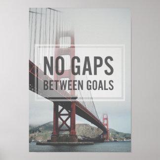 Puente Golden Gate de San Francisco Póster