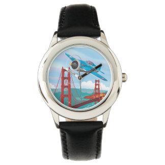Puente Golden Gate de San Francisco Reloj