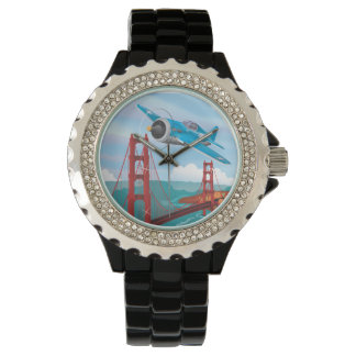 Puente Golden Gate de San Francisco Relojes De Mano