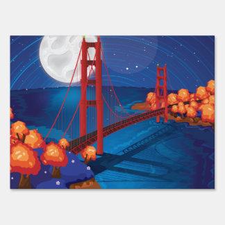Puente Golden Gate de San Francisco Señales