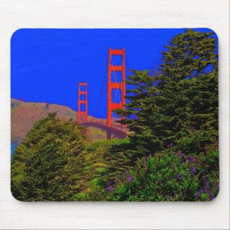 Puente Golden Gate de San Francisco Tapete De Raton