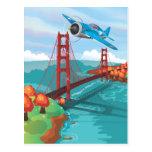 Puente Golden Gate de San Francisco Tarjetas Postales