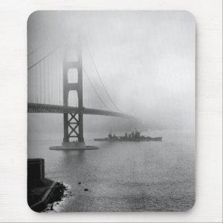 Puente Golden Gate de USS San Francisco del Alfombrillas De Ratón