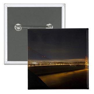 Puente Golden Gate del Marin 2 Pin Cuadrado