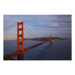 Puente Golden Gate del Marin Poster