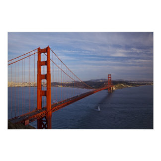 Puente Golden Gate del Marin Póster