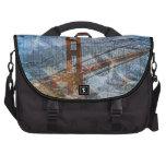 Puente Golden Gate del Puente-UNo-Lito de San Fran Bolsas Para Portátil