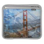 Puente Golden Gate del Puente-UNo-Lito de San Fran Mangas De iPad