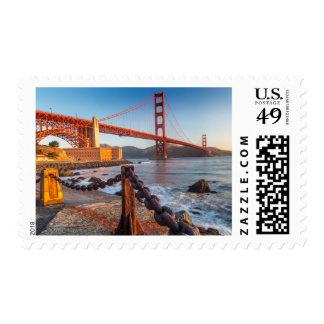Puente Golden Gate del punto del fuerte Estampilla