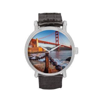 Puente Golden Gate del punto del fuerte Reloj De Mano