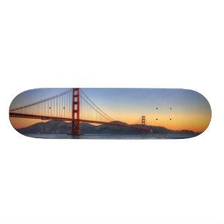 Puente Golden Gate del rastro de San Francisco Bay Monopatin Personalizado