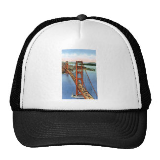 Puente Golden Gate del vintage Gorros