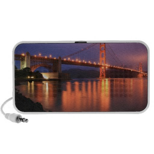 Puente Golden Gate en la noche Altavoces