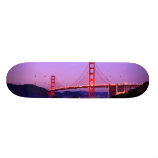 Puente Golden Gate en la playa del panadero en el  Tablas De Patinar