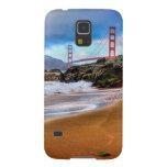 Puente Golden Gate en la puesta del sol Carcasa Galaxy S5