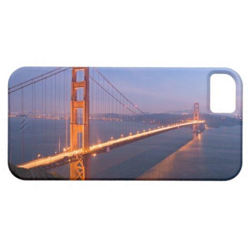 Puente Golden Gate en la puesta del sol iPhone 5 Funda