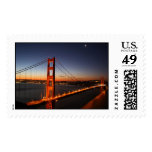 Puente Golden Gate en la salida del sol