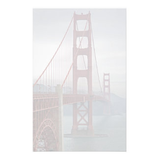Puente Golden Gate en niebla Papelería De Diseño