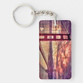 Puente Golden Gate en San Francisco, California Llavero