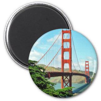 Puente Golden Gate en San Francisco Imán Para Frigorífico