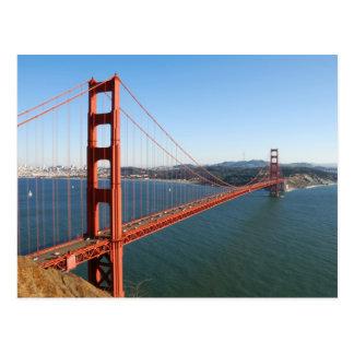 Puente Golden Gate en San Francisco Postal