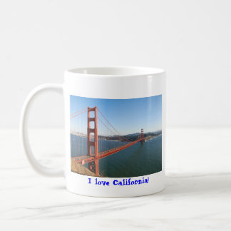 Puente Golden Gate en San Francisco Taza De Café