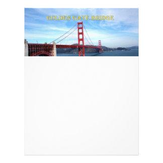 Puente Golden Gate Tarjetón
