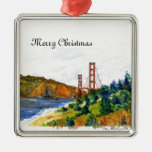 Puente Golden Gate hermoso Adornos De Navidad