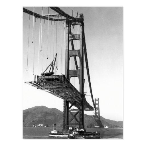 Puente Golden Gate I Tarjeta Postal