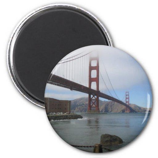 Puente Golden Gate Imán Para Frigorifico
