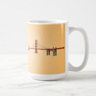 Puente Golden Gate: modelo 3D: Taza de café