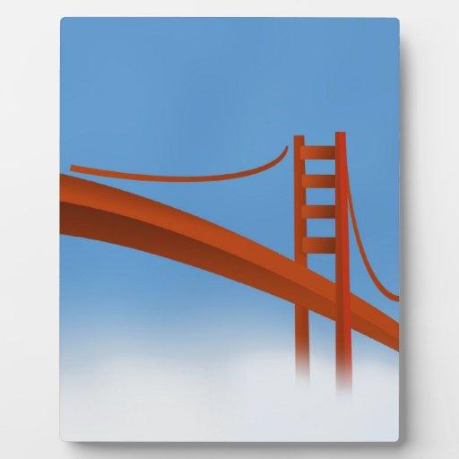 Puente Golden Gate Placas Con Foto