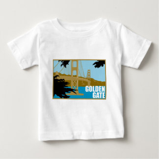 Puente Golden Gate Playera De Bebé