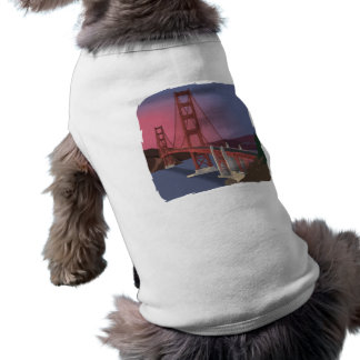 Puente Golden Gate Playera Sin Mangas Para Perro