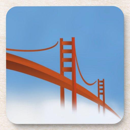 Puente Golden Gate Posavasos De Bebidas
