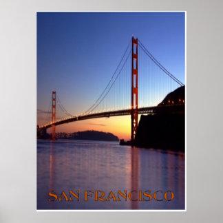 Puente Golden Gate Póster