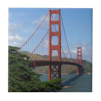 Puente Golden Gate, San Francisco Azulejo Cuadrado Pequeño